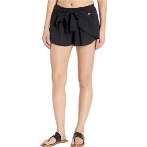 Salt Washed Cover-Up Shorts
