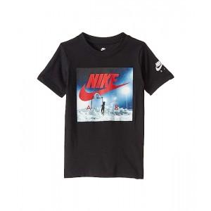 Nike Kids Air Hoop Show Short Sleeve Graphic T-Shirt (Little Kids) Black