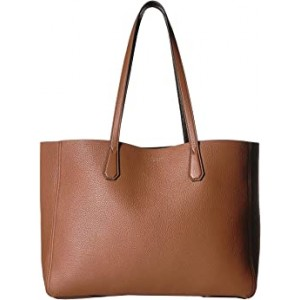 Perry Tote Light Umber/Dark Mahogany