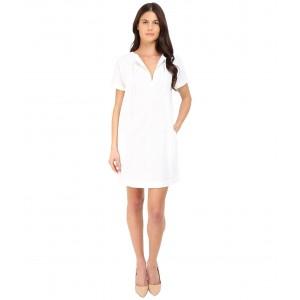 Alisia Crunch Wash Dress White