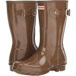 Original Short Gloss Rain Boots Mushroom