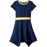 Solid Pique Dress (Big Kids)