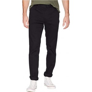 Stretch Cotton Calvary Twill Pants Black