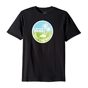 Dual Palm Logo Fill Tee (Big Kids)