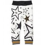 Dolce & Gabbana Kids Pantalone Trousers (Toddleru002FLittle Kids) Stelle Fdo Panna