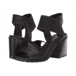Nadia Sandal Black Full Grain Leather