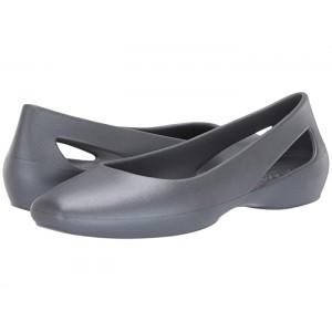 Sloane Metallic Flat Metallic Charcoal