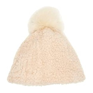 Exposed Curly Pile Beanie (Toddler/Little Kids) Chestnut Curly