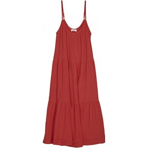 Tokelau Cover-Up Dress Fiery Red