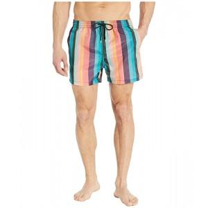 Paul Smith Artist Stripe Swim Shorts Multi