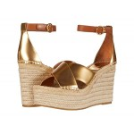 Tory Burch Selby 105 mm Wedge Espadrille Old Gold/Ambra
