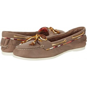 Sperry Audrey Satin Piping Greige