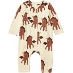 Unicorns All Over Printed Jumpsuit (Infant)