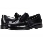 Spazzolato Manhattan Leather Loafer Black Leather