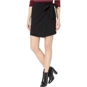 Tie Bow Wrap Miniskirt