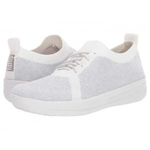 F-Sporty Uberknit Sneakers - Metallic Weave Metallic Silver/Urban White