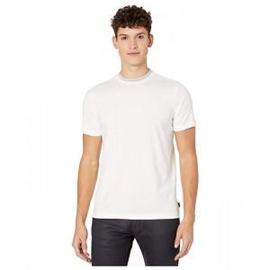 Short Sleeve Regular Fit Striped Rib T-Shirt
