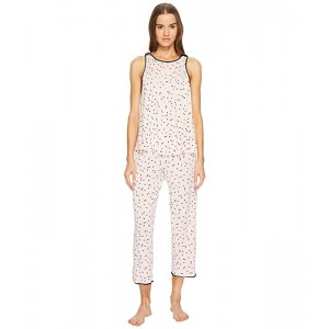 Scattered Dot Cropped PJ Set