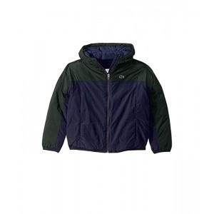 Color Block Raincoat with Hood (Little Kids/Big Kids)