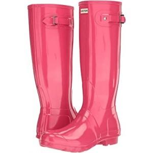 Original Tall Gloss Rain Boots Bright Pink