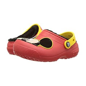 Classic Lined Clog (Toddler/Little Kid) Mickey/Flame