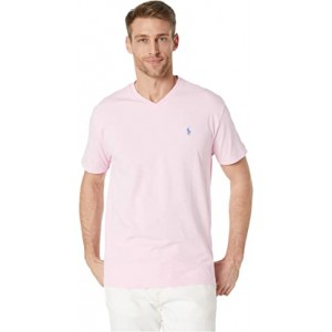 Classic Fit V-Neck Tee Pink