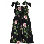 Dolce & Gabbana Kids Tuta Jumpsuit (Toddleru002FLittle Kids) Rose Rosa Fdo Nero
