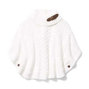 Cable Sweater Cape (Toddler/Little Kids/Big Kids)