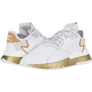adidas Nite Jogger W Footwear White/Periwinkle/Gold Metallic