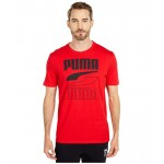 PUMA Rebel Tee High Risk Red
