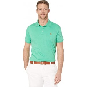 Custom Slim Fit Soft Touch Polo Green
