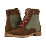 Nolita Brown Waxy Suede/Dusty Olive Washed Canvas