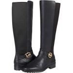 COACH Farrah Leather Boot Black