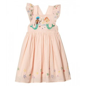 Mermaids and Stars Embroidered Dress (Toddler/Little Kids/Big Kids)