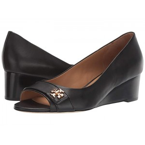 45 mm Kira Open Toe Wedge Perfect Black