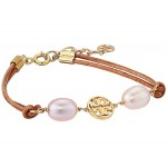 Logo Pearl Slider Bracelet