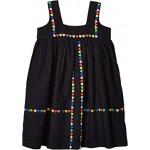 Sleeveless Linen Dress with Heart Embroidery (Toddler/Little Kids/Big Kids)