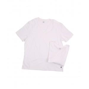 2-Pack Tall V-Neck T-Shirt White