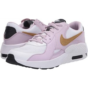Nike Kids Air Max Excee (Big Kid) White/Metallic Gold/Iced Lilac/Off Noir