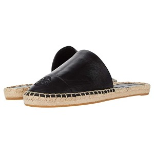 Color-Blocked Flat Espadrille Slide