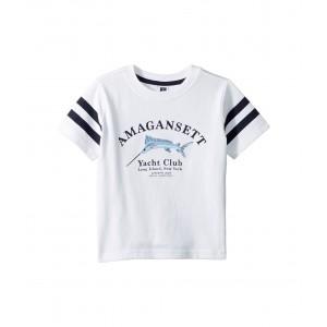 Short Sleeved Graphic Tee (Toddler/Little Kids/Big Kids) White 1