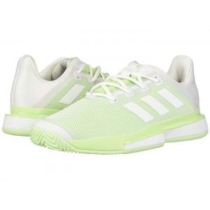 SoleMatch Bounce Footwear White/Footwear White/Glow Green