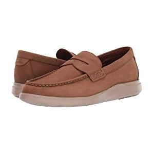 Grand Plus Essex Wedge Penny Loafer Dogwood Nubuck/Cobblestone