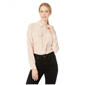 Slim Signature Blouse French Nude