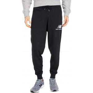 New Balance Essentials Stacked Logo Sweatpants Black