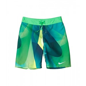 Nike Kids 8 Spectrum Drift Boardshorts (Little Kidsu002FBig Kids) Green Spark