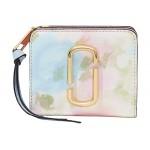 Snapshot Watercolor Mini Compact Wallet