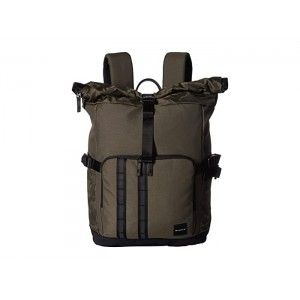 Utility Rolled Up Backpack Dark Brush