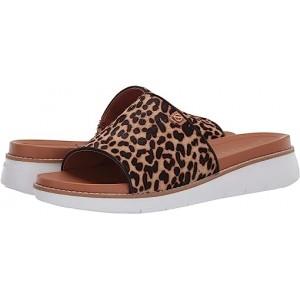 Cole Haan Zerogrand Global Slide Sandal Mini Cheetah Print/Pecan/Optic White