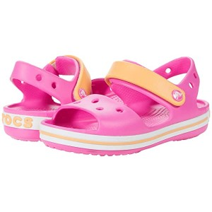 Crocband Sandal (Toddler/Little Kid) Electric Pink/Cantaloupe